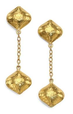 Gurhan - Clove Cielo Long Chain Drop Earrings