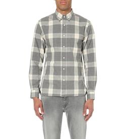 Beams Plus - Long-Sleeved Cotton Checked Shirt