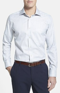 David Donahue - Gingham Sport Shirt