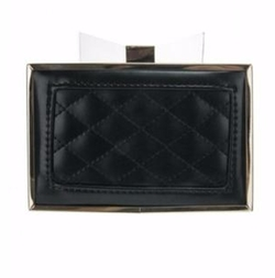 Petunias of Naples - Quilted Bow Clutch Bag