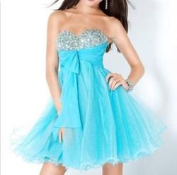 Jovani - Ball Gown Cocktail Dress