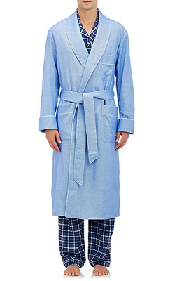 Barneys New York - Flannel Robe