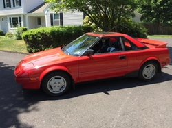 Toyota - 1986 MR2 Coupe Car