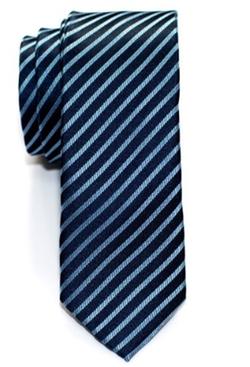 Retreez  - Modern Stripe Woven Skinny Tie