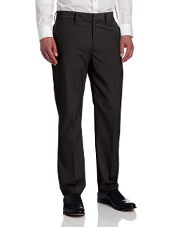 Kenneth Cole New York - Flat Front Mini Check Pants