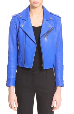 Victoria Beckham  - Leather Biker Jacket