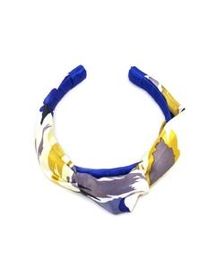 Kristin Perry  - Floral Silk Knot Headband