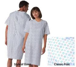 Medline - Classic Patient Hospital Gowns