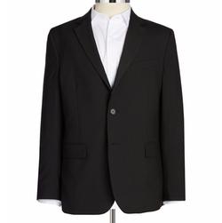 Nautica - Solid Wool-Blend Blazer