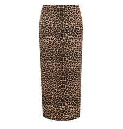 WearAll - Animal Leopard Skirt