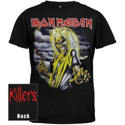 Global Merchandising -  Iron Maiden Killers T-Shirt Black