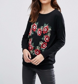 Sugarhill Boutique - Lena Flowers Sweater