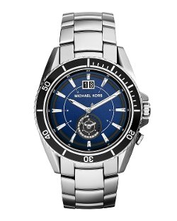 Michael Kors	 - Stainless Steel Jet Master Watch