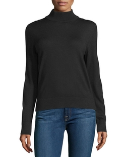 Carolina Herrera - Long-Sleeve Turtleneck Sweater