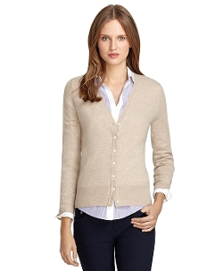 Brooks Brothers - V-Neck Cashmere Cardigan