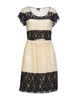 PF Paola Frani  - Lace Short Dress