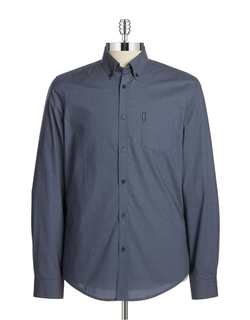Ben Sherman - Slim Fit Micro Dot Sportshirt