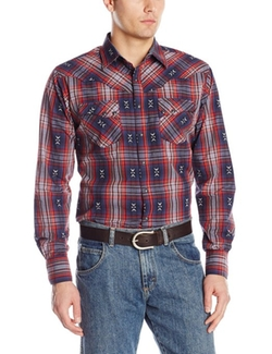 Wrangler - Western Long Sleeve Woven Shirt