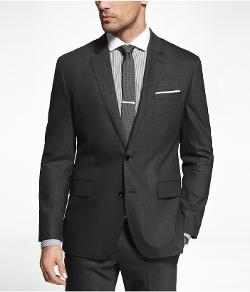 EXPRESS - END-ON-END PRODUCER SUIT JACKET