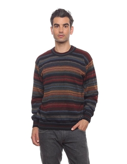 Invisible World - Alpaca Crew Neck Pullover Sweater