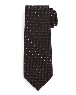 Tom Ford - Dotted Zigzag Silk Tie
