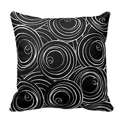 Happy Shops - Cotton Square Decorative Throw Pillow