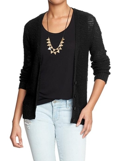 Old Navy - Loose-Knit Cardigan
