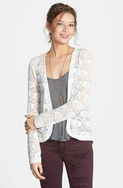 Frenchi - Lace Cardigan