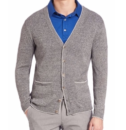 Saks Fifth Avenue Collection  - Lincoln Cotton & Linen Cardigan