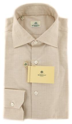 Luigi Borrelli - Beige Dress Shirt