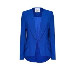 Hebe Studio - - The Hebe Suit Blue Royal Girlfriend Blazer