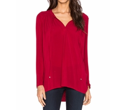 Splendid - Long Sleeve V Neck Top