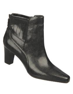 Franco Sarto  - Test Faux Leather Ankle Boots
