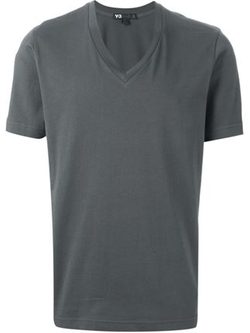 Y-3 - V-Neck T-Shirt