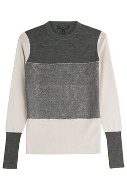 Rag & Bone - Colorblock Wool Pullover