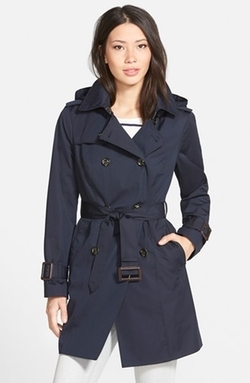 London Fog  - Heritage Trench Coat with Detachable Liner