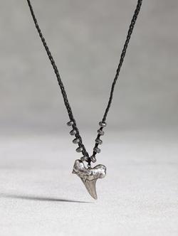 John Varvatros - Silver Shark Tooth Pendant
