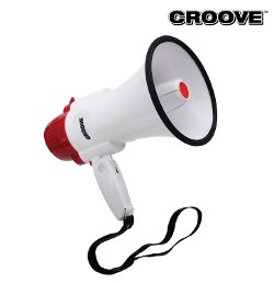 Croove - Portable 30 Watt Megaphone