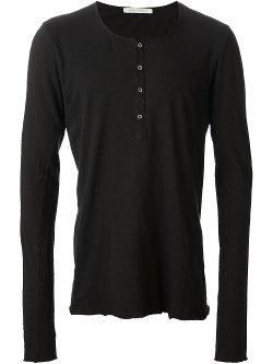Poème Bohémien  - Long Sleeve Henley Shirt