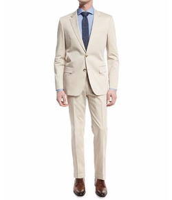 Boss Hugo Boss - Huge Genius Solid Slim-Fit Two-Piece Suit