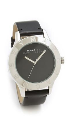 Marc by Marc Jacobs  - Blade Etched Logo Watch