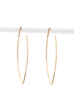 Forever 21 - Pointed Hoop Earrings