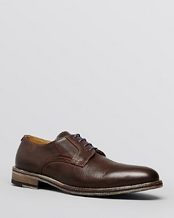 Modern Fiction  - Leather Plain Toe Oxford