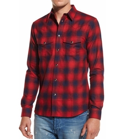 Givenchy - Plaid Western Shirt
