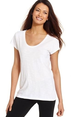 Style&Co. - Short-Sleeve Scoop-Neck Tee