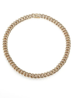 Adriana Orsini  - Pavé Chain Necklace