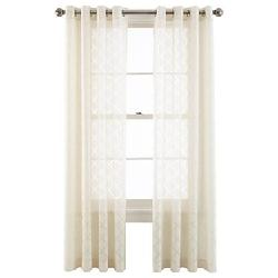 Royal Velvet - Adair Grommet-Top Curtain Panel