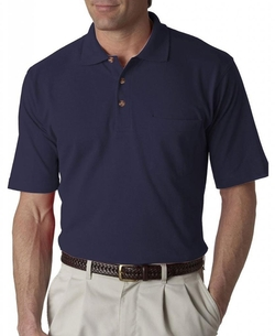 UltraClub - Short Sleeve Pocket Polo Shirt