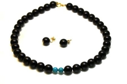 Gino - Onyx Beads Necklace