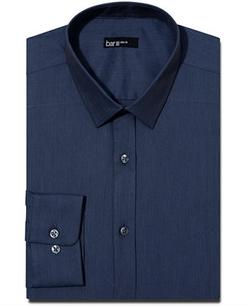 Bar III  - Slim-Fit Solid Dress Shirt